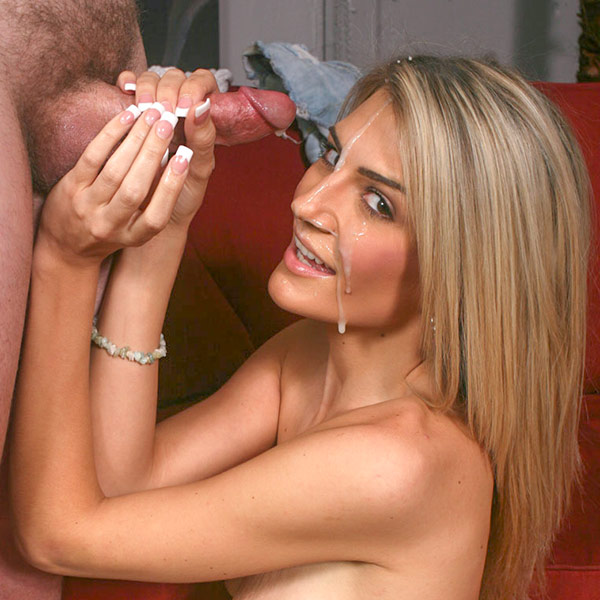 Naughty Blonde Blasted!