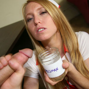 Nurse Ami Milks It